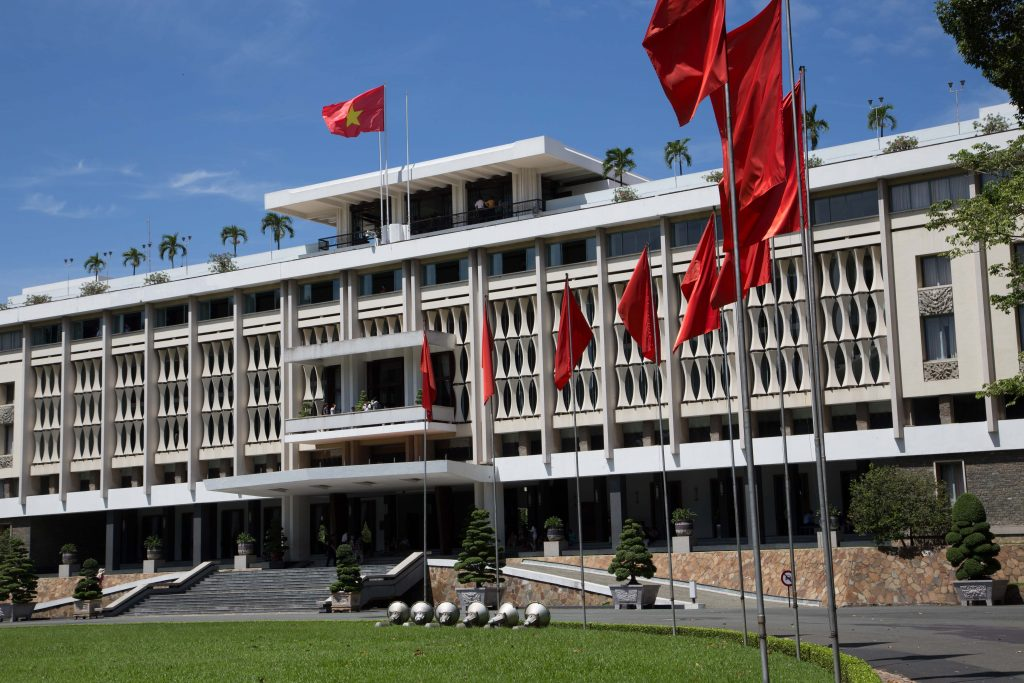 Visit Independence Palace on a city tour
