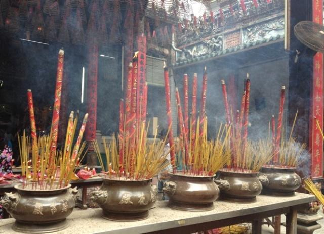 Visit a famous temple in Saigon on your city tour