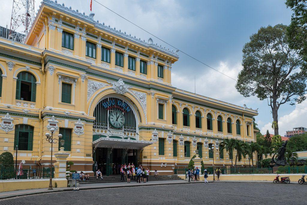 Old post office Ho Chi Minh city