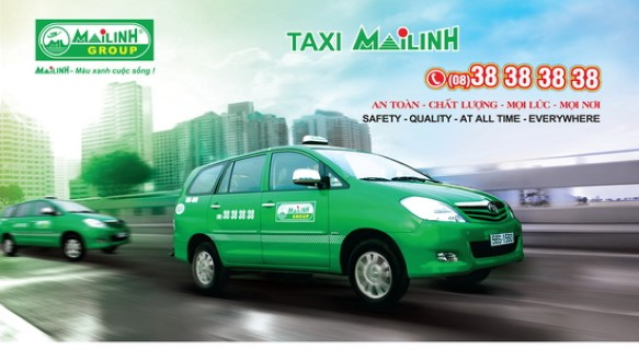 taxi from Tan Son Nhat airport to city center